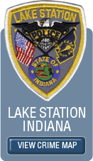 Lake Station Crime Map